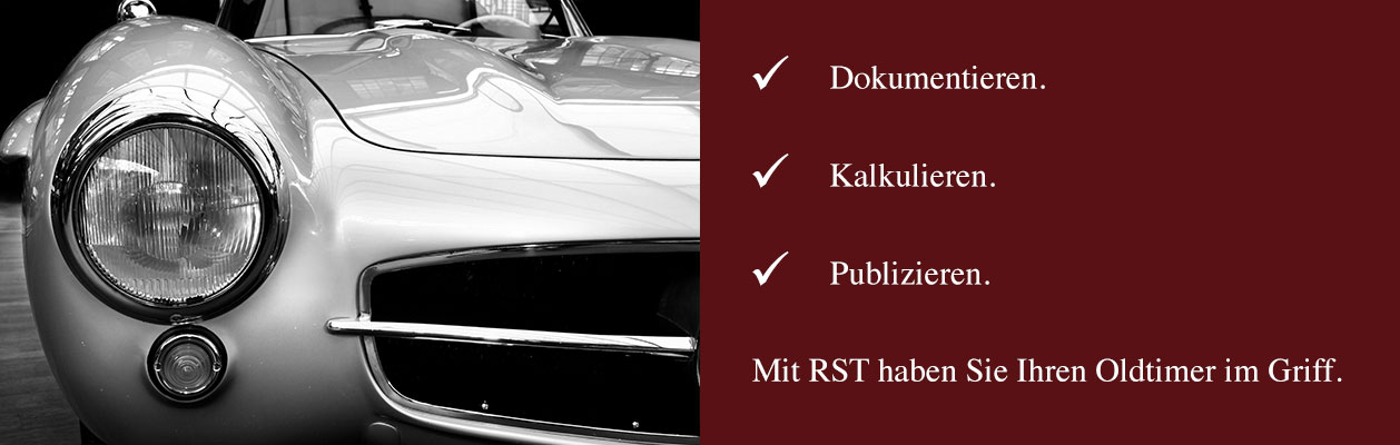 RST Oldtimer Software